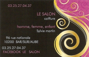 Le Salon_Carte visite