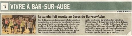 2014 12 01_Est-Eclair_Article_Post Zumba du 30nov2014