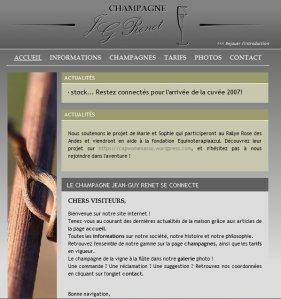 Site internet_Champagne RENET