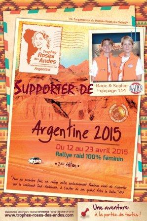 Affiche TRA et Cap Women_Supporter
