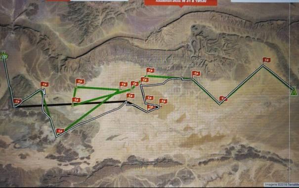 E6 parcours
